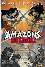 Wonder Woman: Amazons Attack! by Will Pfeifer & Pete Woods 2007, HC DC OOP