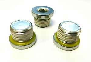 M18 x 1.5mm Sump Plug Oil Pan Bolt Rimlex Sealing Plug With Thread Lock Patch