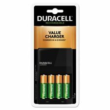 Duracell Ion Speed 1000 Advanced Charger, with 4 Aa NiMh Batteries (Durcef14)