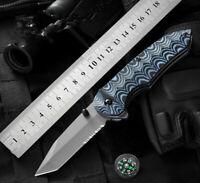 Folding Knife Hunting Camping  Fishing Outdoor Tactical Small Pocket Tool Sharp