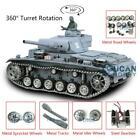 US Stock Henglong 1/16 6.0 Customized 3848 Panzer III L RTR RC Tank Metal Wheels