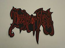 DEEDS OF FLESH EMBROIDERED BACK PATCH