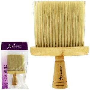 Wooden Neck Duster for hair cutting