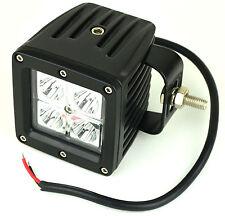 Arbeitslampe 16W 4 LED's Zusatztscheinwerfer Traktor Bagger LKW Scheinwerfer