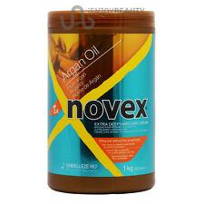 Novex Argan Oil Extra Deep Hair Care Cream Treatment35.3oz /1KG w/FREE Nail File