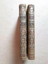 LE RIME DI FRANCESCO PETRARCA. Orléans, 1786. 2 volumes complet.