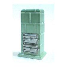 Liebe HANDARBEIT 46057 Ofen Keramik grün 1:12 für Puppenhaus NEU! #