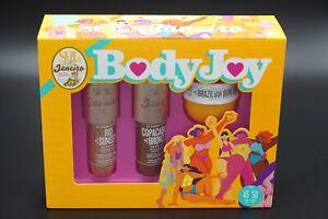 Sol De Janeiro Body Joy Set Bum Bum Cream Glow Motions  ~ NIB