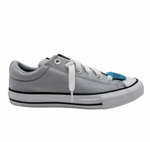 Converse Juniors 664177F Lace Up Round Toe Gray White Sneaker Shoes Size US 5