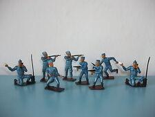 08.05.16.2 lot de 8 figurines soldat armée de l'air pilote COFALU TBE