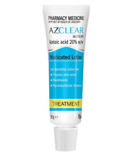 EGO AZCLEAR MEDICATED LOTION 25G FOR PIMPLES ACNE BLACKHEADS AZELAIC ACID 20%