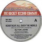"Elton John ""Heartache All Over The World"" Oz 7"""