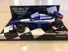 MINICHAMPS 1/43 JACQUES VILLENEUVE, WILLIAMS RENAULT FW17 1995 F1 CAR, 430950106