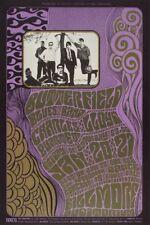 The Paul Butterfield Blues Band Jan 20, 1967 Original Concert Poster 1st Print