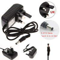 AC 100-240V to DC 6V 1A 1000mA UK Plug Power Supply Converter Adapter Charger