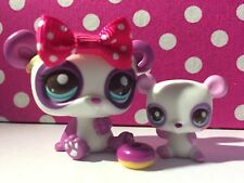 Littlest Pet Shop # 2674/2675 Cutest Pets Mom Baby Panda Bear's