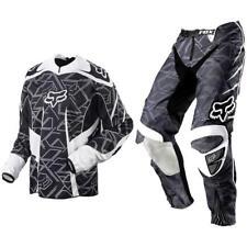 Fox Racing Adult Platinum  Off Road MX Gear Set Black White XLarge / 36