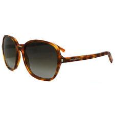 Lunettes de soleil marron ronds pour femme 100% UV