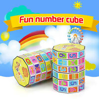 New Funny Children Kids Mathematics Numbers Magic Cube Toy Puzzle Game Gifts