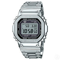 CASIO G-SHOCK Full Metal Bluetooth Silver Edition Watch GShock GMW-B5000D-1
