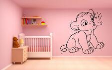 Vinyl Wall Decal Sticker Decor Nursery Lion King Simba DIsney Cartoon O212