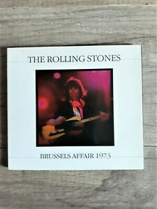 THE ROLLING STONES - Brussels Affair 1973 - CD - Digipack