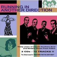 RUNNING IN ANOTHER DIRECTION Various Artists NEW 3x CD SET NORTHERN SOUL R&B
