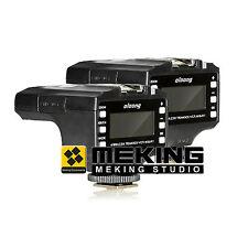 2pcs*LCD Oloong 800RT set wireless flash trigger for Nikon D7000/D200/D70/D70s