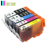 5 PK 564XL Ink For HP PhotoSmart 7510 7520 7525 C5300 C410 C510 D5400 **No PBK**