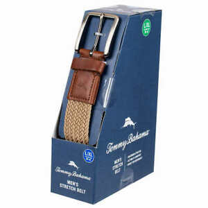 NEW!! Tommy Bahama Men's Ultimate Comfort Movement Stretch Belt Variety #507