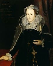 Mary Queen Of Scots Scotland Scottish Portrait Painting History Art Canvas Print