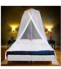 Luxury Mosquito Net Bed Canopy Large Single Queen Size Quick Easy Installation