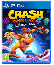 CRASH BANDICOOT 4 - IT´S ABOUT TIME PS4 VIDEOGIOCO PLAY STATION 4 ITALIANO NU..