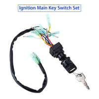 Ignition Main Key Switch 703-82510-43-00 For Yamaha Outboard Motor Control Box
