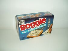 Boggle The 3 Minute Word Game by Parker