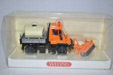 Wiking 0646 40 UNIMOG U 400 w/Street Cleaner (Orange) for Marklin- NEW w/BOX