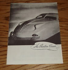 1938 Phantom Corsair Sales Brochure 38 Rust Heinz