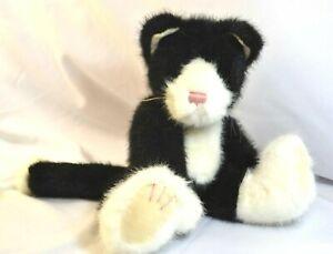 Boyds Bears Sly Alleyrukus Plush Cat Heavy Floppy Big Foot Kitty