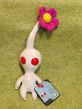 World of Nintendo White Pikmin Plush Toy Stuffed Plushie w/ Flower New Jakks