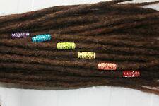 Rainbow dread bead set. Pride beads - equality beads for dreadlocks - dreadlock