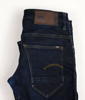 G-Star Brut Hommes Arc 3D Slim Bretelles Jeans Extensible Taille W29 L32 ASZ247
