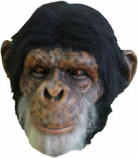 Morris Costumes Extremely Realistic Chimp Full Over The Head Latex Mask. TA507