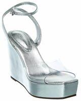 Schutz Divany Leather Wedge Sandal Women's