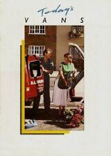 Austin Metro Van & Maestro Van 1988 UK Market Sales Brochure 310 500 700