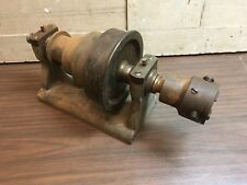 Vintage 4 Step Lathe Headstock Belt Pulley Machinists Tool Chuck Metal Working