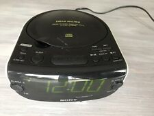 Sony Dream Machine Fm/Am Cd Dual Alarm Clock Radio Icf-Cd815 Dream-Machine