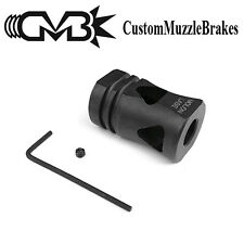 TriDelta Tactical Custom Muzzle Brake for 9mm Pistol/Carbine w/ 1/2-28 TPI MB35