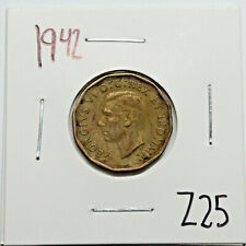 1942 Canada Tombac Nickel 5 Cents King George VI Canadian Coin (Exact Coin)