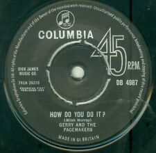 """GERRY AND THE PACEMAKERS - HOW DO YOU DO IT ( U/K/  COLUMBIA DB 4987) 7""""  1963"""