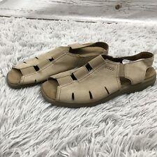 Ecco Soft Slip on Walking Comfort Sandal Slingback 41 US 10